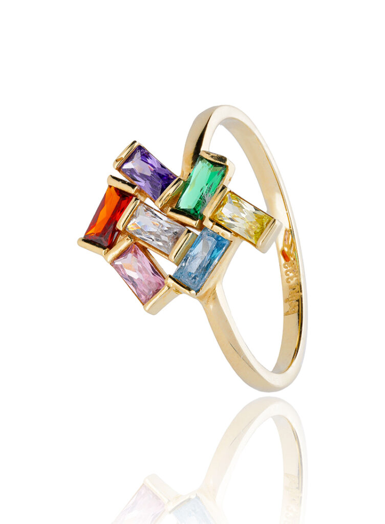 jewelry with gems - perfect product photography